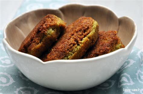 cuisine pois chiche recette bio végétalienne falafels pois chiche coriandre