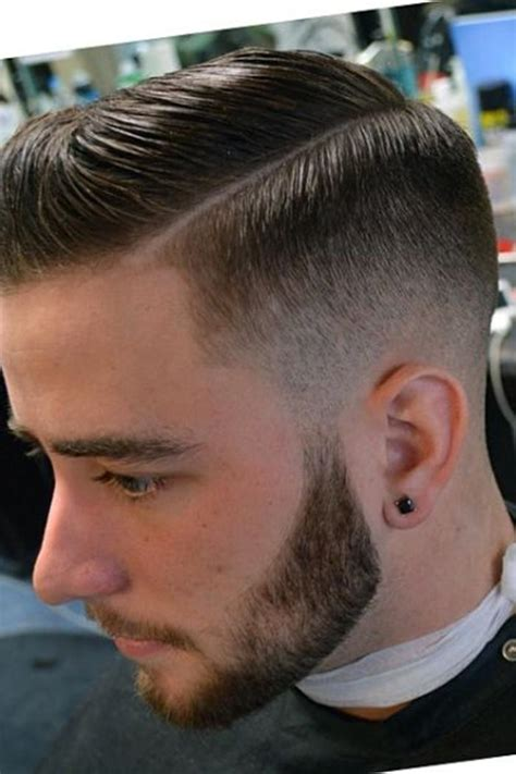mens side part hairstyle mens craze