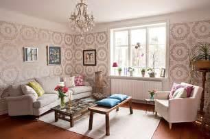 livingroom wallpaper 20 eye catching wallpapered rooms