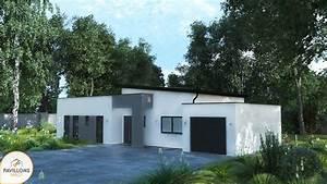 incroyable extension maison toit plat 7 maison With extension de maison avec toit plat