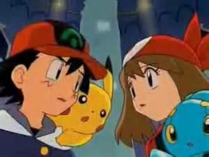 Pokemon Ash and May Kiss Episode