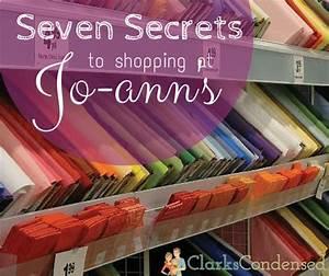 Top Secrets for... Joann Fabrics