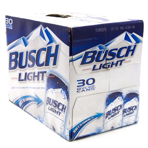 12 pack busch light busch light beer 12oz cans 30 pack beer wine and