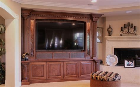 Custom Home Theater And Tv Cabinets Doopoco Enterprises