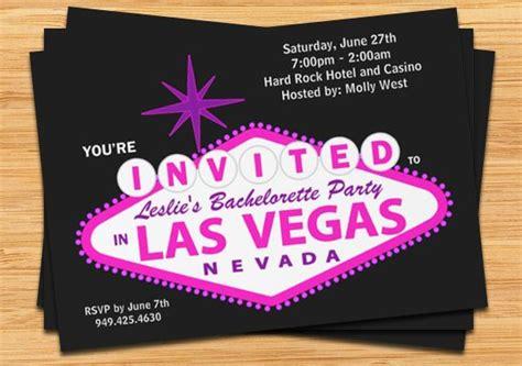 Las Vegas Wedding Invitation Ideas