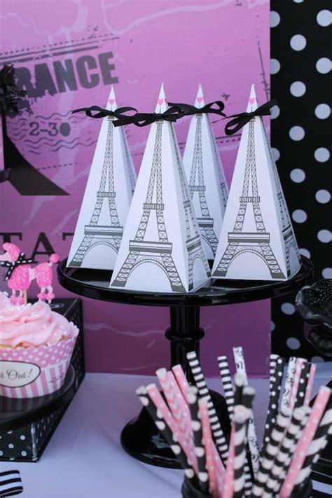 french parisian birthday party ideas photo