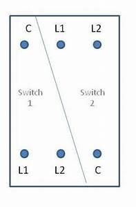 Volex 2 Gang 2 Way Light Switch Replacement