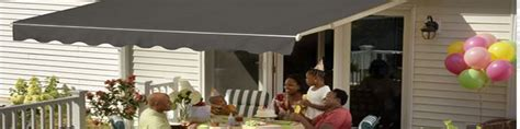 retractable awnings  patio  deck luces chimney