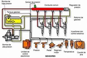 Partes Que Conforma El Sistema De Inyecci U00f3n Common Rail