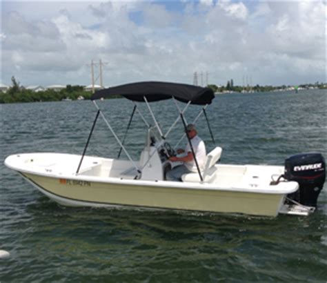 Skiff Travel by 18 Foot Carolina Skiff Key West Vacation