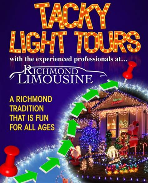 tacky light tours richmond va light tours