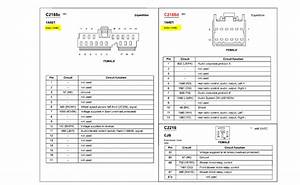 Ford Expedition Cd Changer Pinout