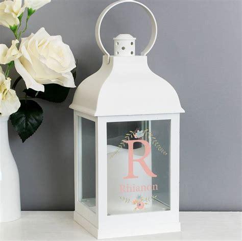 personalised monogram light  lantern   letteroom notonthehighstreetcom