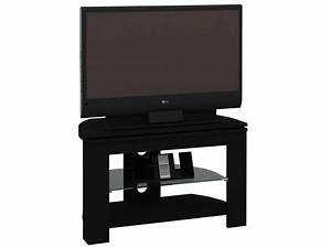 Petit Meuble Tele : meuble tv passo 4 coloris noir vente de meuble tv conforama ~ Teatrodelosmanantiales.com Idées de Décoration
