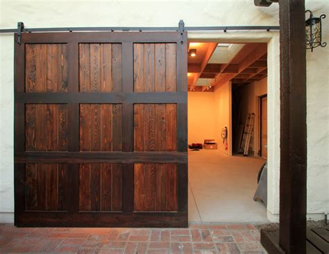 Barn Garage Door by Garage Doors Used As Barn Doors