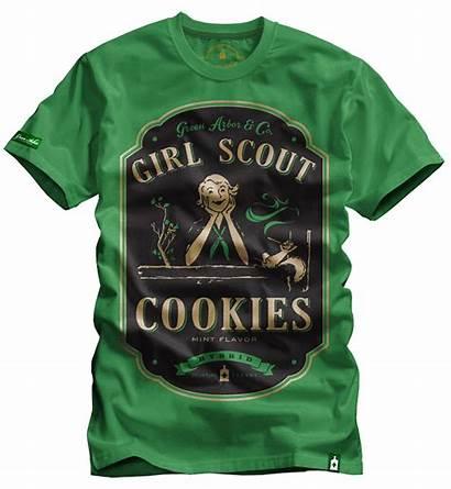 Cookies Scout Weed Shirts Cannabis Strain Marijuana