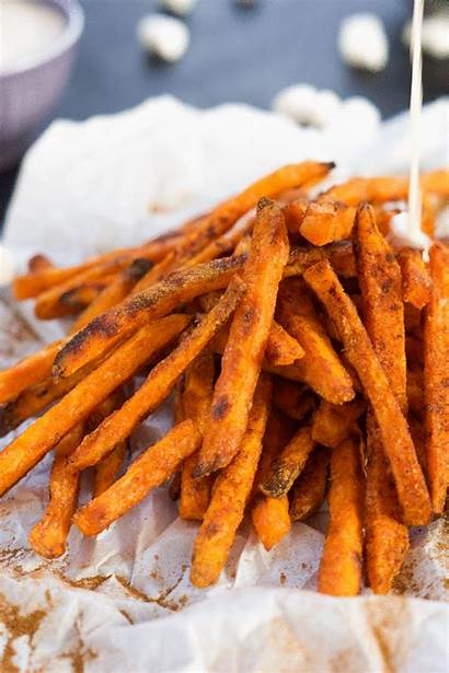Potato Fries Sweet Cinnamon Sugar Marshmallow Toasted