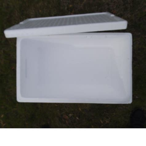 large styrofoam insulated shipping cooler container choose  size   ebay