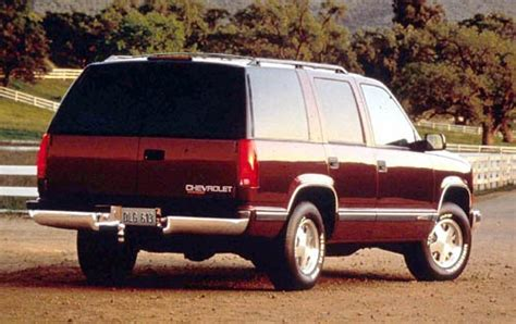 all car manuals free 1997 chevrolet tahoe electronic throttle control used 1998 chevrolet tahoe for sale pricing features edmunds