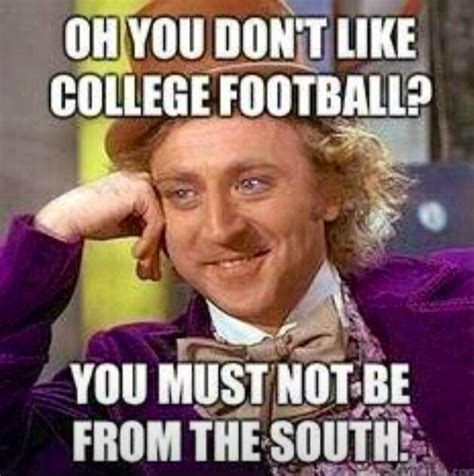 Funny College Football Memes - college football i