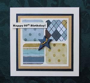 Handmade by Kath: Happy 80th Birthday!
