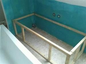 Habillage De Baignoire : habiller baignoire bois ~ Premium-room.com Idées de Décoration