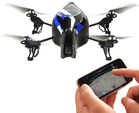 parrot ardrone set  uk launch iphone remote controlled augmented reality quadricopter win