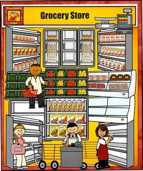 Grocery Store Clipart Grocery Store Clip By S By S