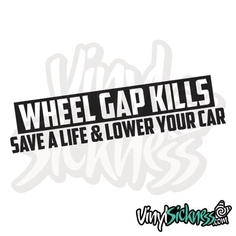 Wheel Gap Kills • Stickers  Decals, Funny, Low • Vinyl. Number 3 Signs. Industry Banners. Malayalam Logo. Cool Gaming Banners. Ball Decals. Khmer Signs Of Stroke. Parlour Decals. Cobia Murals