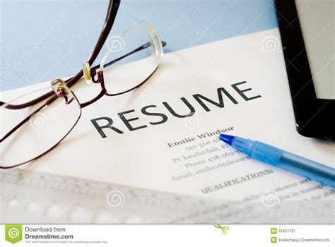 As a new web designer, one very skill you'll need to master is using background images. Resume stock image. Image of human, occupation ...