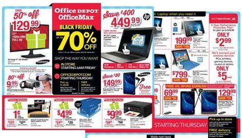 office depot black friday ad 2018 deals store hours