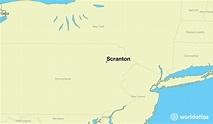 Where is Scranton, PA? / Scranton, Pennsylvania Map ...