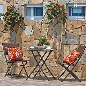 Balkonmöbel Set Holz : terrasse balkonm bel faltbare bistro m bel sets holz harz und rattan klapptisch ~ Yasmunasinghe.com Haus und Dekorationen