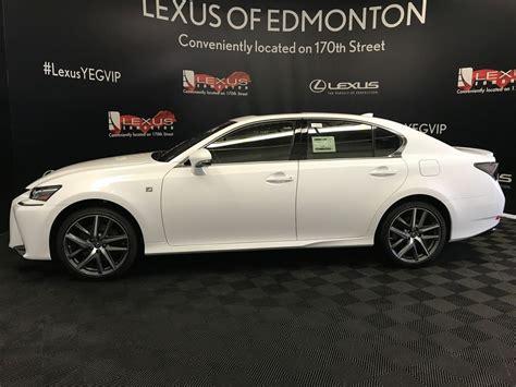 white lexus 2018 used 2018 lexus gs 350 4 door car in edmonton ab l13997