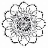 Coloring Mandala Flower Pages Lotus Kaleidoscope Difficult Printable Mandalas Pdf Print Sheets Designs Adult Books Music Sheet Clipartmag Getdrawings Getcolorings sketch template