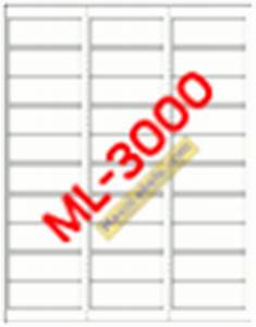 maco label templates With ml 3000 label template