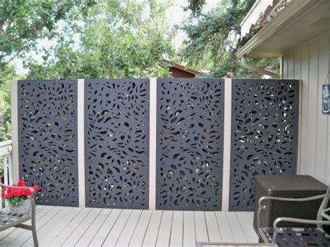 modinex  ft   ft charcoal gray modinex decorative composite fence panel featured