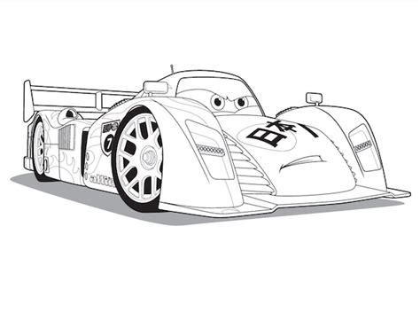 cars characters coloring coloriage cars et cars 2 et dessins de flash mc queen