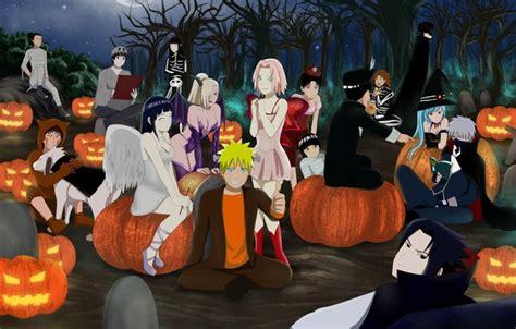 wallpaper kawaii naruto halloween anime ninja manga