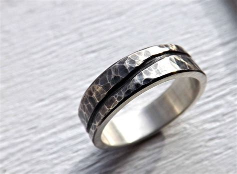 15 Best Collection Of Silver Mens Engagement Rings