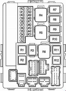 Nissan Altima  2001 - 2006  - Fuse Box Diagram