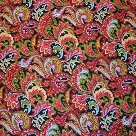 print fabrics red paisley print fabric floral print fabric fabric world