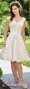 knee length wedding dress 117185 enchanting by mon cheri With short ivory wedding dresses