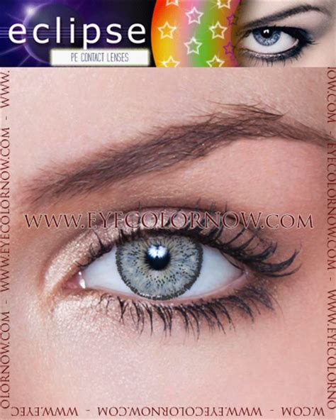 eclipse grey contact lenses