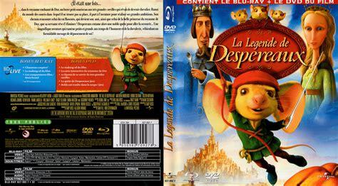 Jaquette Dvd De La Legende De Despereaux (bluray)  Cinéma Passion