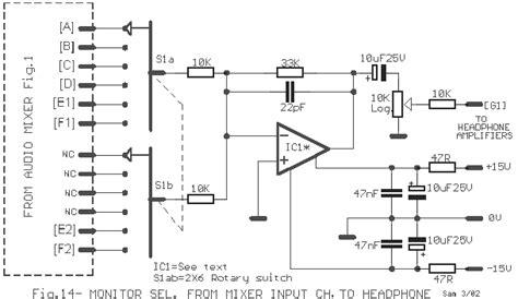 rangkaian mixer audio 6 channel buat berbagi saja bbs