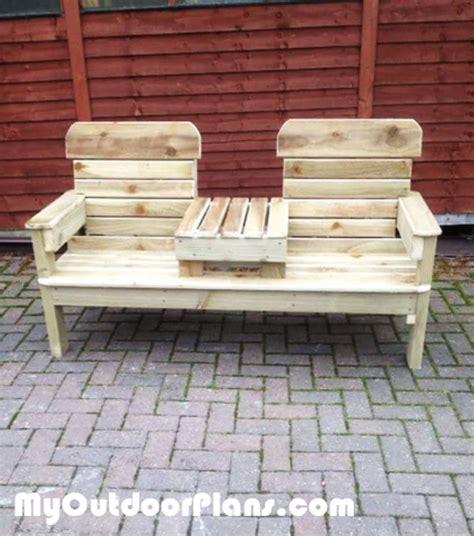 diy patio chair bench myoutdoorplans free