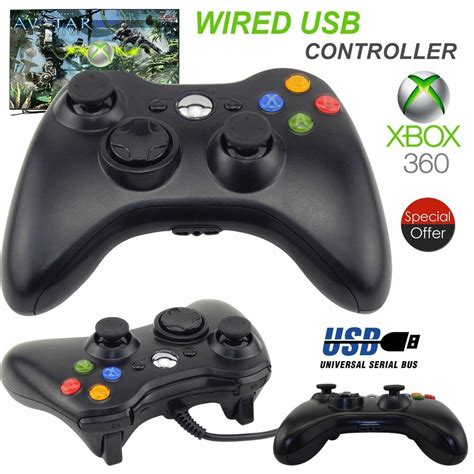 New Wired Usb Game Pad Controller For Microsoft Xbox 360