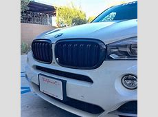 AutoTecknic BMW Replacement Dual Slat Kidney Front Grill