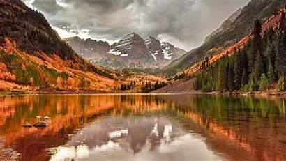 Canada Autumn Desktop Lake Nova Scotia Nature